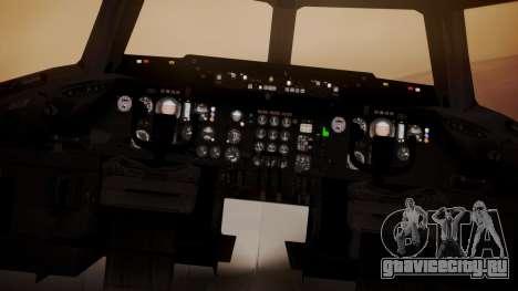 DC-10-30 All-White Livery (Paintkit) для GTA San Andreas вид сзади