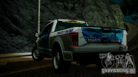Ford F-150 2015 Transito Vial для GTA San Andreas вид слева