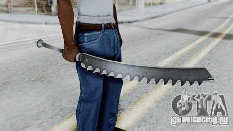 Kaine Sword для GTA San Andreas третий скриншот