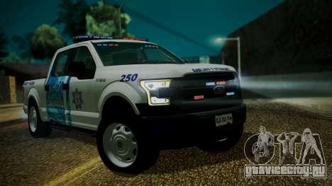 Ford F-150 2015 Transito Vial для GTA San Andreas