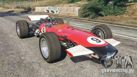 Lotus 49 1967 [ailerons] для GTA 5
