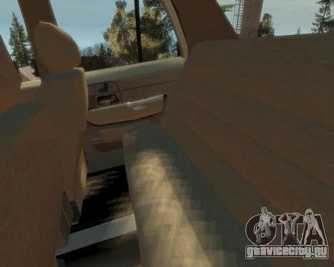 2003 Ford Crown Victoria для GTA 4 вид изнутри