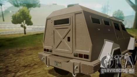 GTA 5 HVY Insurgent для GTA San Andreas вид справа
