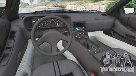 DeLorean DMC-12 v1.2 для GTA 5 вид сзади справа
