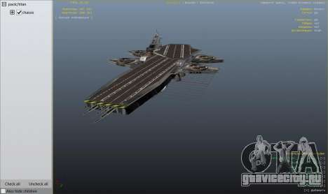 S.H.I.E.L.D. Helicarrier для GTA 5 девятый скриншот