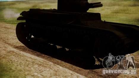 T1 E6 для GTA San Andreas вид справа