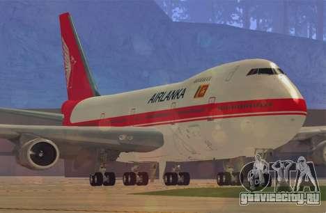Boeing 747-200 Air Lanka для GTA San Andreas