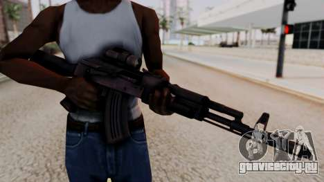 AK-103 from Special Force 2 для GTA San Andreas третий скриншот