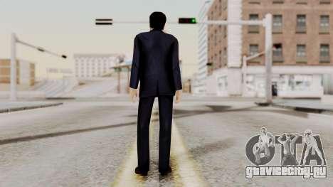 Agent Mulder (X-Files) для GTA San Andreas третий скриншот