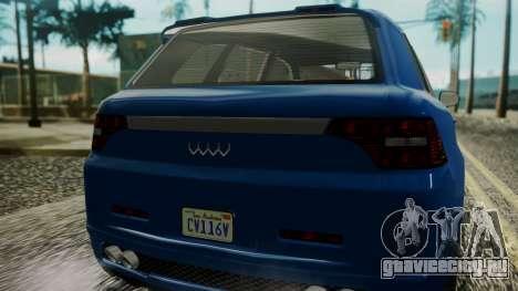 GTA 5 Obey Rocoto IVF для GTA San Andreas вид изнутри