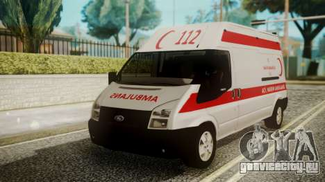 Ford Transit Jumbo Ambulance для GTA San Andreas