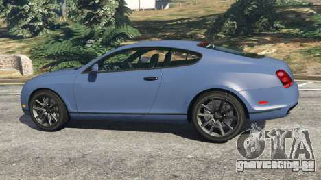 Bentley Continental Supersports [Beta2] для GTA 5 вид слева