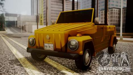 Volkswagen Safari Type 181 для GTA San Andreas