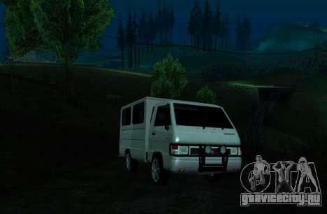 Mitsubishi L300 FB Van для GTA San Andreas вид слева