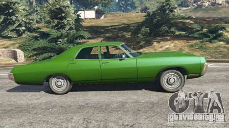 Dodge Polara 1971 v1.0 для GTA 5 вид слева
