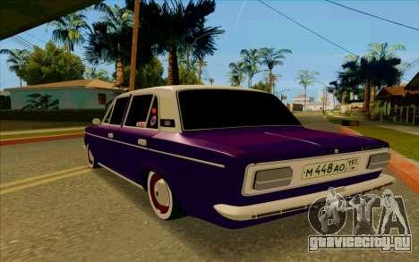 ВАЗ 2103 Баклажан для GTA San Andreas вид справа