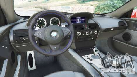 BMW M6 (E63) WideBody v0.1 [red] для GTA 5