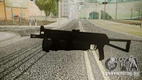 PP-19 Battlefield 3 для GTA San Andreas второй скриншот
