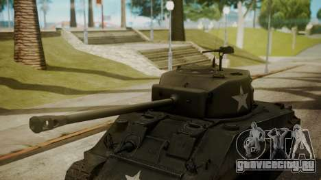 M4A3(76)W HVSS Sherman для GTA San Andreas вид справа