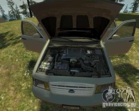 2003 Ford Crown Victoria для GTA 4 вид сбоку