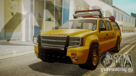 GTA 5 Declasse Granger Lifeguard IVF для GTA San Andreas