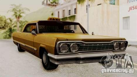Taxi-Savanna v2 для GTA San Andreas