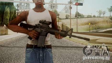 M4 by catfromnesbox для GTA San Andreas третий скриншот