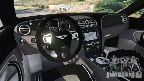 Bentley Continental Supersports [Beta2] для GTA 5 вид сзади справа