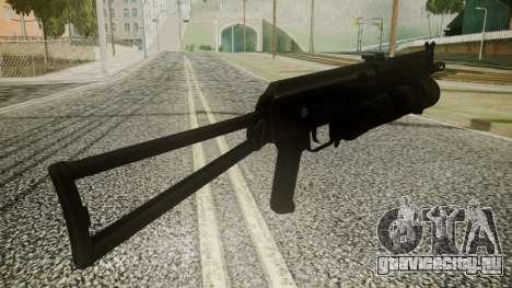 PP-19 Battlefield 3 для GTA San Andreas третий скриншот