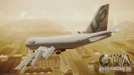 Boeing 747-200 Fly US для GTA San Andreas вид слева
