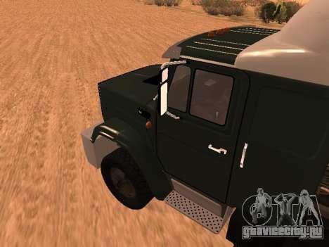 ЗиЛ-133 05А для GTA San Andreas вид сзади слева