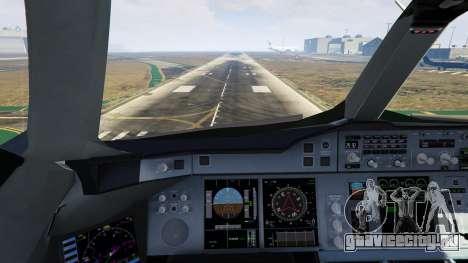 Airbus A380-800 v1.1 для GTA 5 девятый скриншот