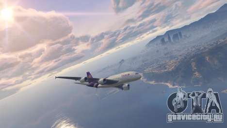 Airbus A380-800 v1.1 для GTA 5