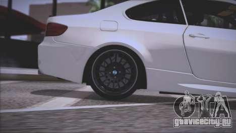 BMW M3 E92 2008 для GTA San Andreas колёса