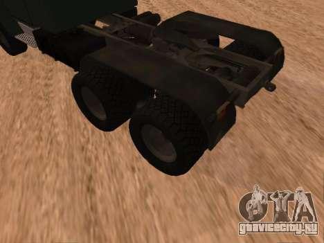 ЗиЛ-133 05А для GTA San Andreas вид справа