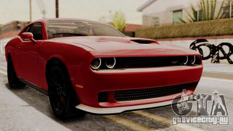 Dodge Challenger SRT Hellcat 2015 HQLM для GTA San Andreas