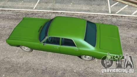 Dodge Polara 1971 v1.0 для GTA 5 вид сзади