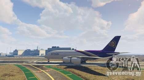 Airbus A380-800 v1.1 для GTA 5 пятый скриншот