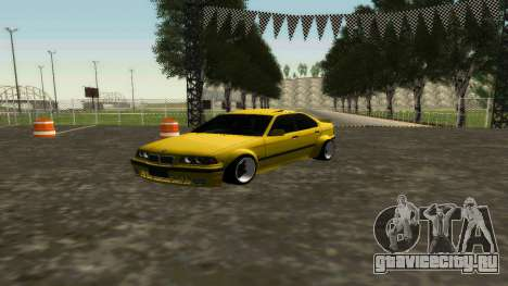 BMW 320i E36 Wide Body Kit для GTA San Andreas