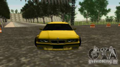BMW 320i E36 Wide Body Kit для GTA San Andreas вид слева