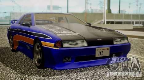 Elegy NR32 with Neon Exclusive PJ для GTA San Andreas