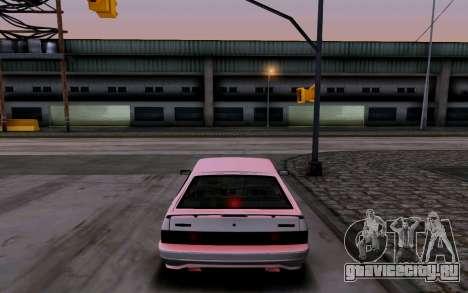 Ваз 2114 Турбо для GTA San Andreas вид снизу