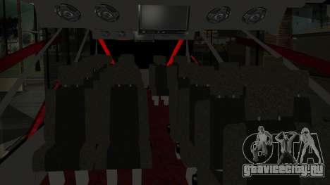 Bus Iron Man для GTA San Andreas вид сзади