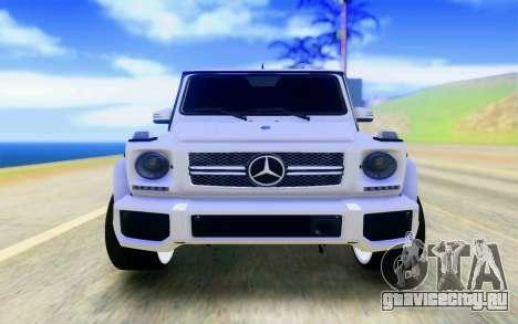 Mercedes-Benz G65 AMG для GTA San Andreas вид справа