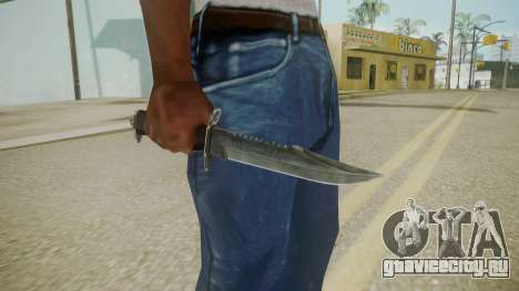 Atmosphere Knife v4.3 для GTA San Andreas третий скриншот