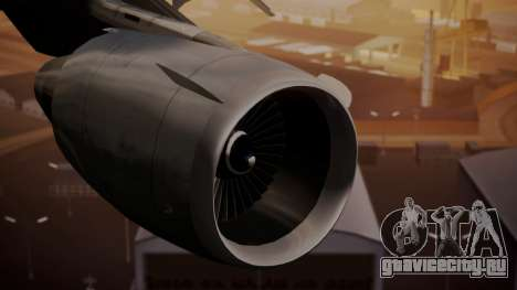 DC-10-10 United Airlines (80s Livery) для GTA San Andreas вид справа