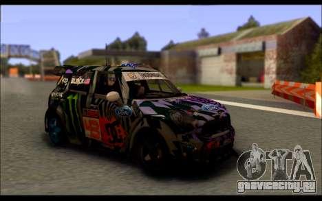 Mini Cooper Gymkhana 6 with Drift Handling для GTA San Andreas вид слева