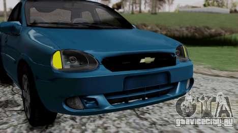 Chevrolet Corsa Classic 2009 v3 для GTA San Andreas вид сбоку