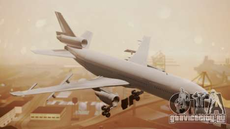 DC-10-30 All-White Livery (Paintkit) для GTA San Andreas