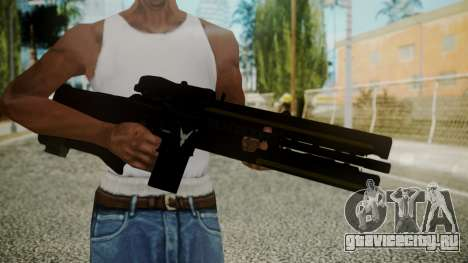 VXA-RG105 Railgun with Stripes для GTA San Andreas